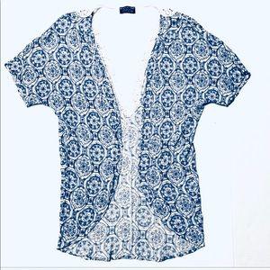 ✂️3️⃣/💲2️⃣0️⃣ Papermoon Stitchfix Lace Cardigan S